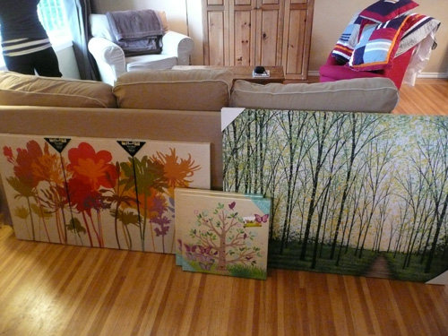 Canvas Art From Home Sense Suits This Casual Lifestyle For Selling