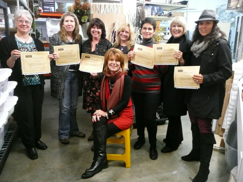 Victoria Stagers & Stylists Certificate of Completion Marketing Course