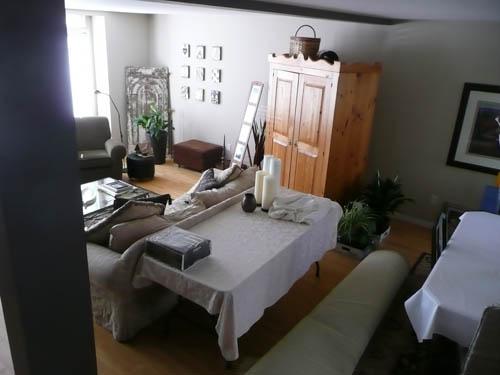 DeAnn Living & Dining Room Before