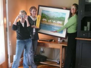 Sharon, Cheryl, Irene Fooling Around