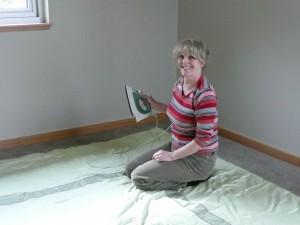 Yvonne Ironing